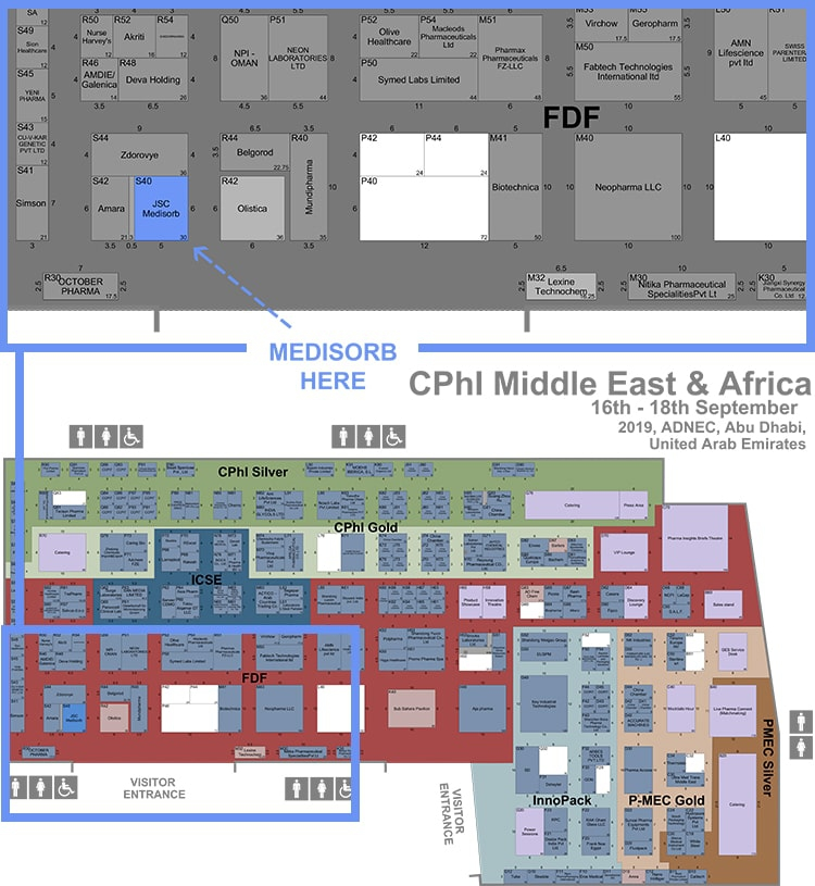 Cphi Middle East Africa 2019